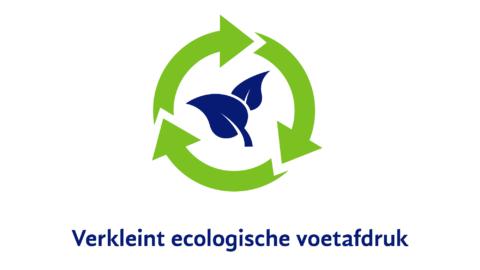 Verkleint ecologische voetafdruk