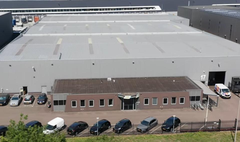 Warehouse aan de Hectorstraat 17 in Tilburg